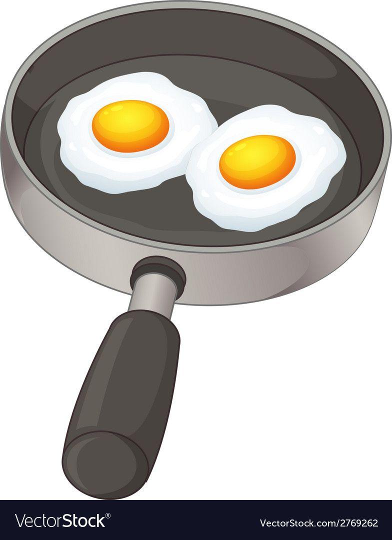 Fried Eggs Vector Image On Artesanatos Divertidos Riscos Ideias