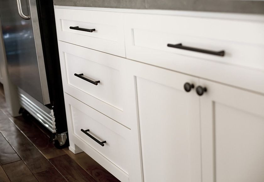 Use large, deep, full extension drawers on the bottom vs ...