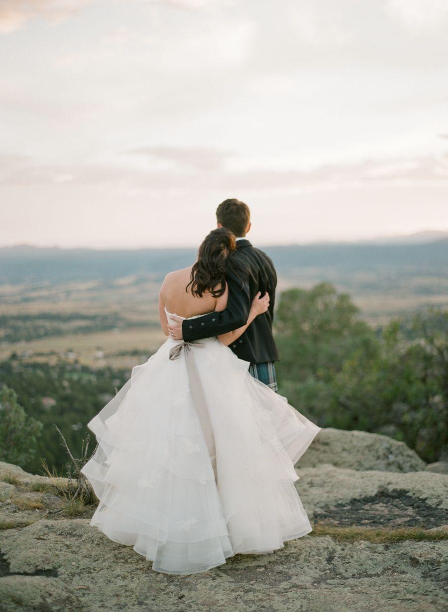 Scottish wedding dresses  Elegant  Traditional Scottish Wedding in Colorado  Wedding