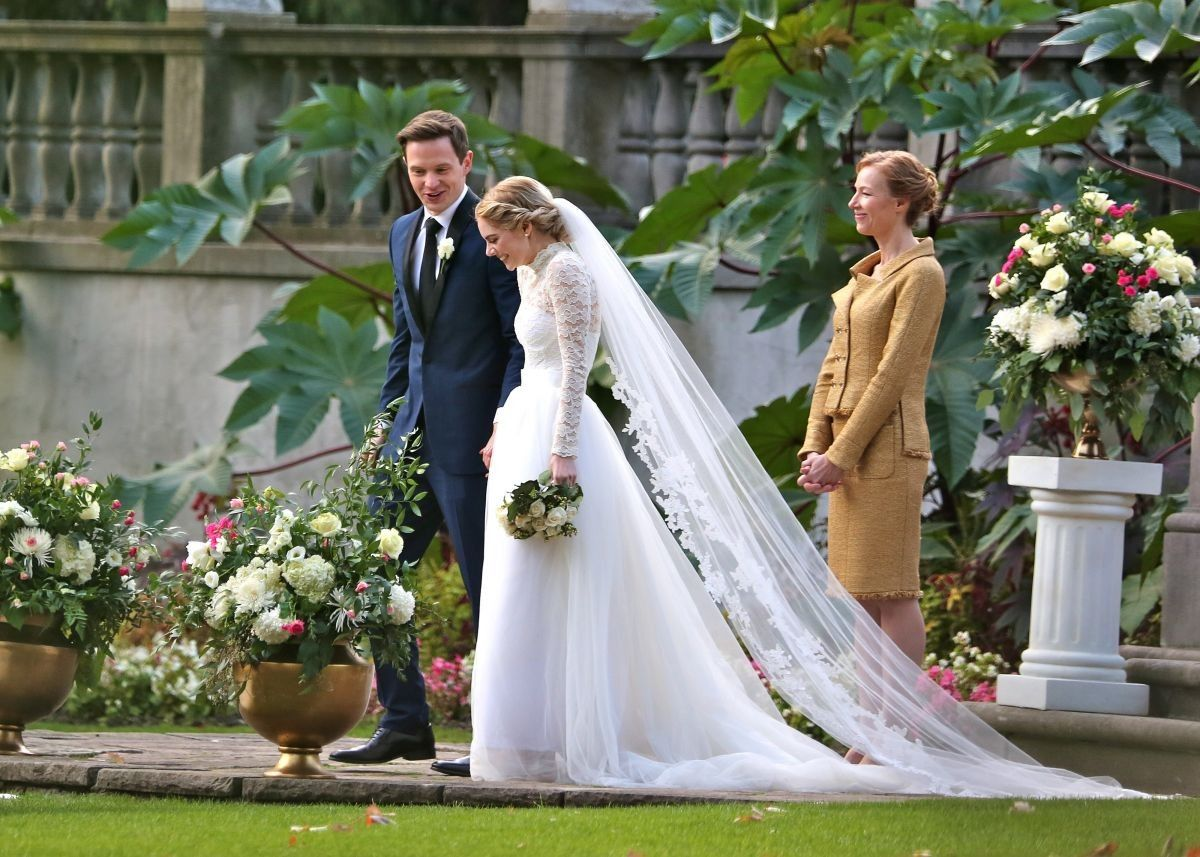 From The Movie Ready Or Not 2019 Movie Wedding Dresses Different Wedding Dresses Wedding Movies