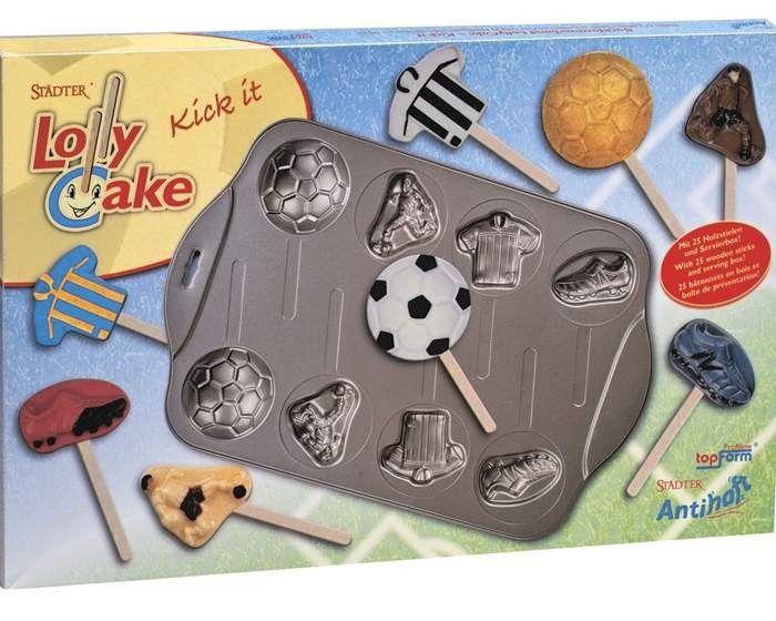 Amerikaner Als Fussball Am Stiel Backform Lolly Cake Kick It