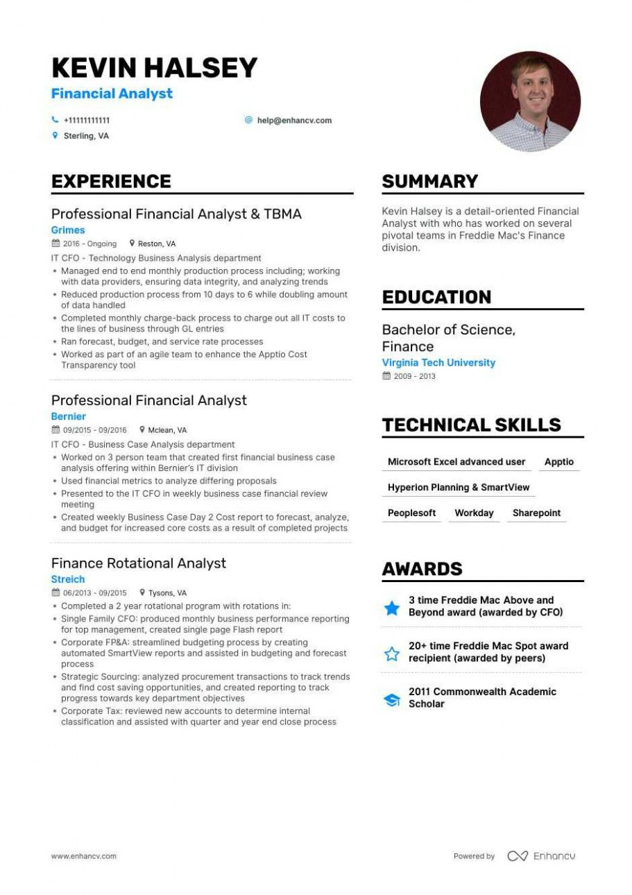15 Monetary Analyst Resume Pattern