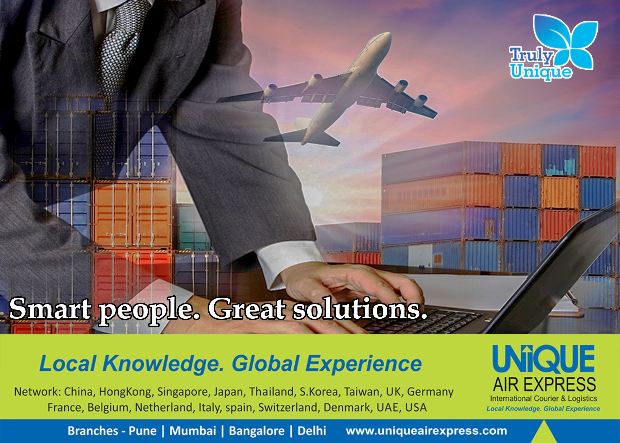 CouriernCargo International courier services, Smart