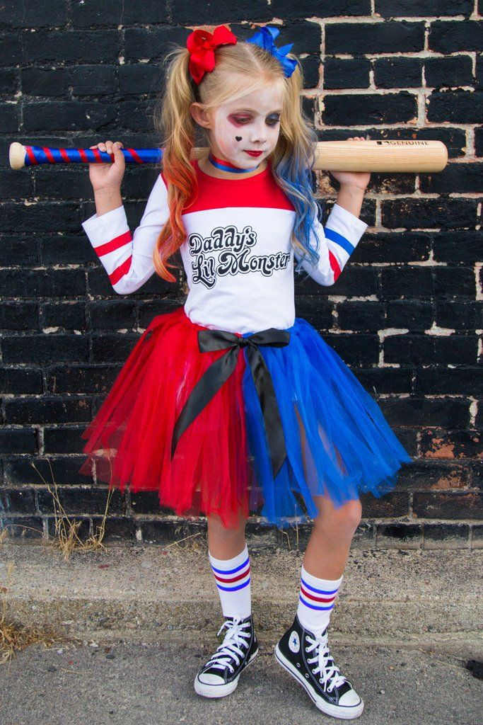 harley quinn kid costume boutique outfits harley quinn. Black Bedroom Furniture Sets. Home Design Ideas