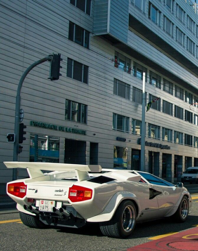 1975 Lamborghini Countach A Classic Cars Lamborghini Cars