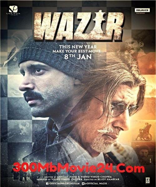 Wazir 2016 Hindi 720p Dvdrip Hevc X265 500mb With Esub Hd Movies Download Hd Movies Movie Songs