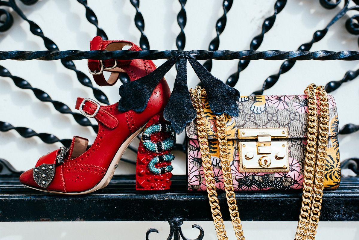 06af5a6ccd3 Gucci Queercore brogue pump   Gucci Padlock Gucci Bengal shoulder ...