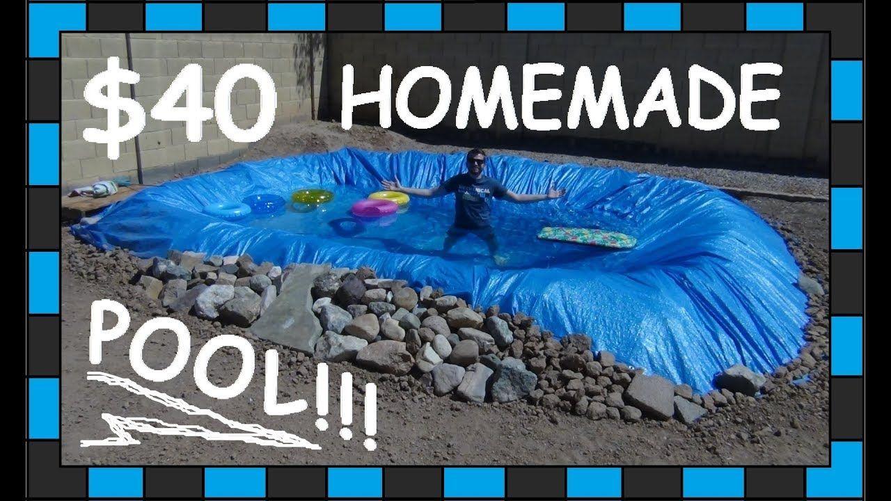 Diy pool 40 homemade swimming pool youtube diy home
