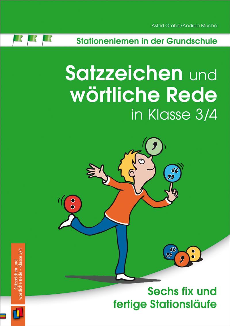 satzzeichen und w246rtliche rede in klasse 34 deutsch