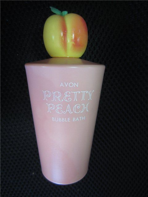 I loved Avon Pretty Peach bubble bath.  www.kookykitsch.com