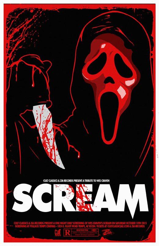 Pin By Jeanne Loves Horror On Ghostface Scream Horror Movie Art Slasher Film Horror Movie Posters