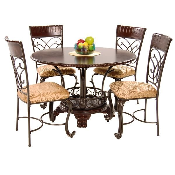 Alyssa 5 Piece Casual Dining Set Dining Set Dining Furniture
