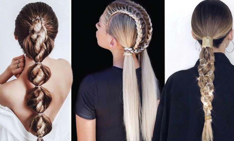 47 Peinados Con Trenzas De Moda Que Te Encantaran 2019 Hair Styles Hair Beauty Beauty