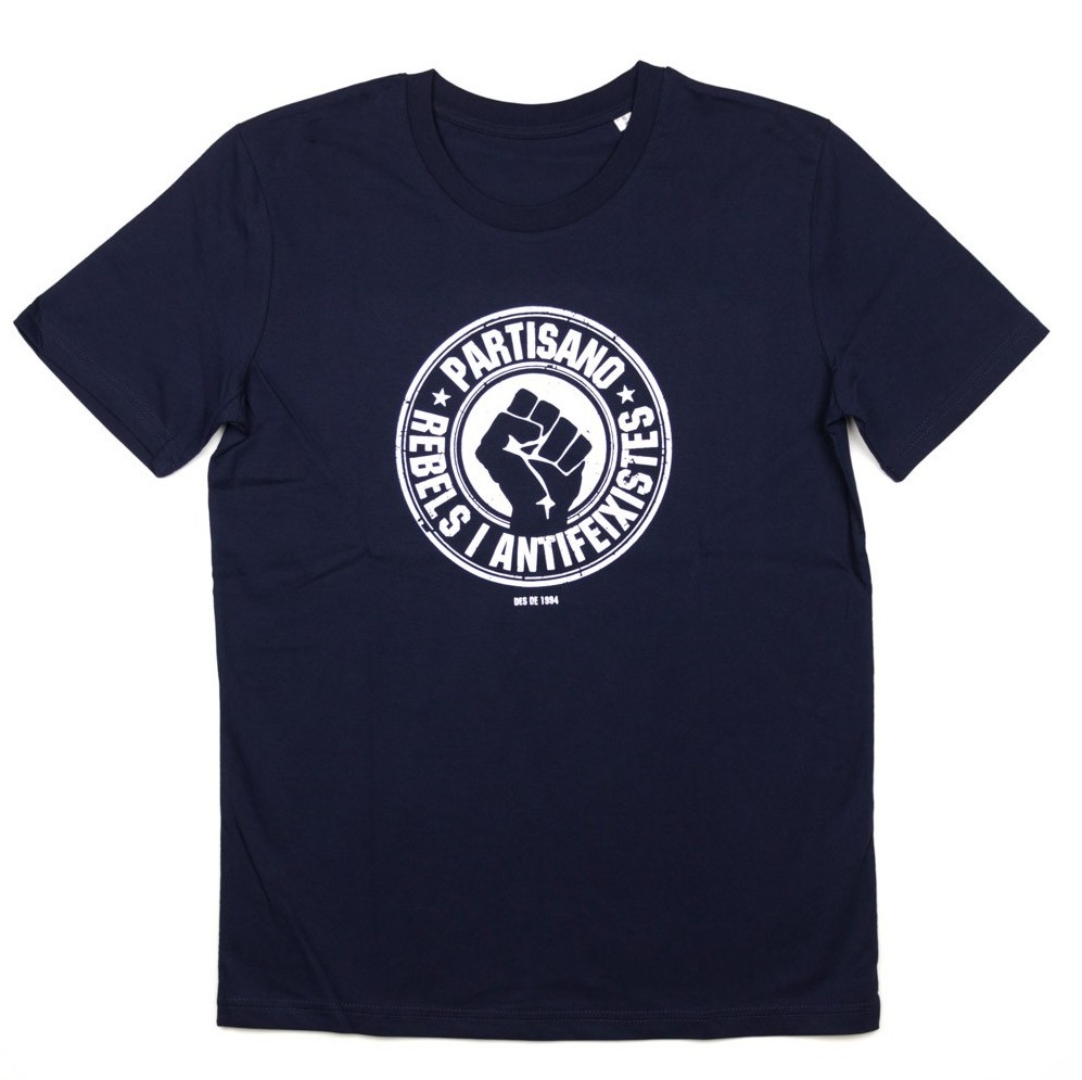 """Partisano """"Rebels i antifeixistes"""" Shirt › Fire and Flames Music and Clothing"""