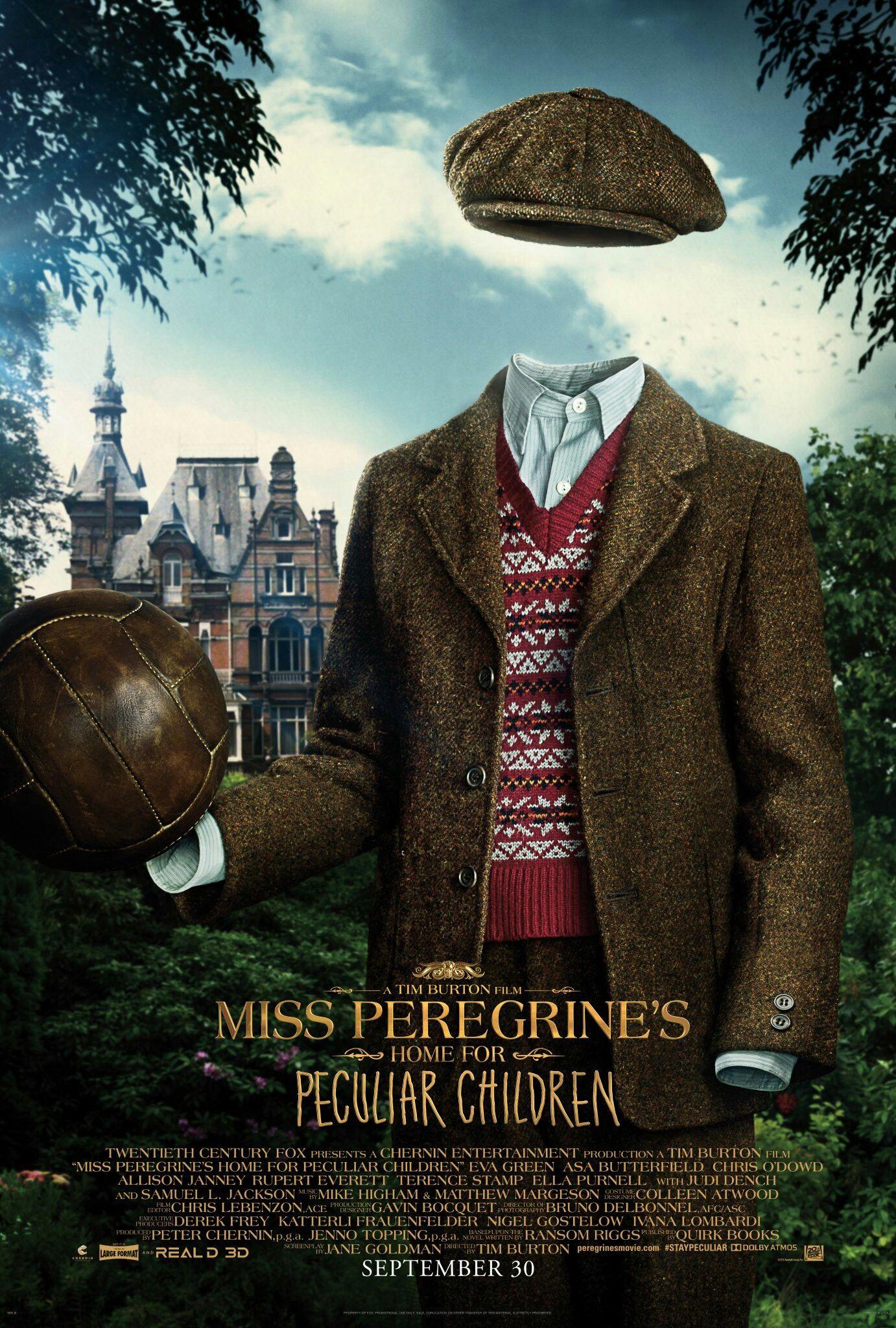 Millard Miss Peregrine Home For Peculiar Children 佩小姐的奇幻