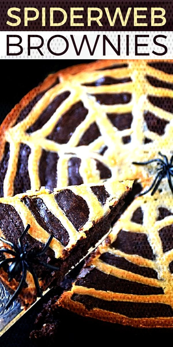 Spiderweb Brownies Spiderweb Brownies | by Life Tastes Good are a fun treat to celebrate Halloween.