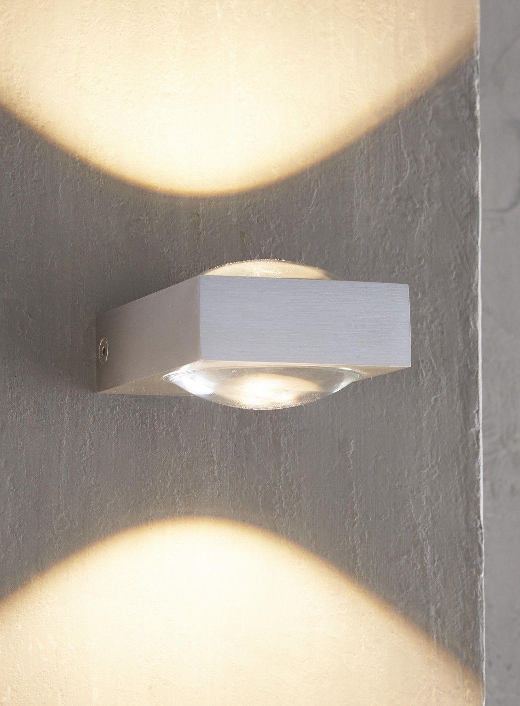 399657 Led 2 X 3 Watt 2700 Kelvin Warmweiss Wandlampe Beleuchtung Lampe Wandleuchte Led Lampen Und Leuchten