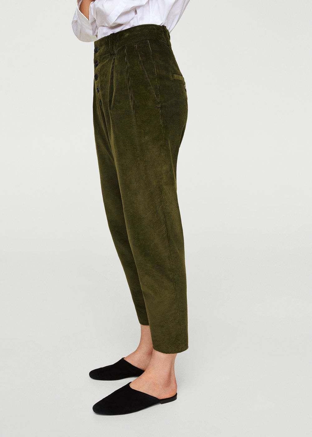 Vuelve La Pana Pantalones De Pana Ropa Femenina De Invierno Ropa