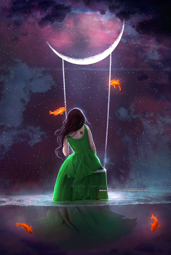 Digital Paintings By Mirella Santana ღ Your Fantasy