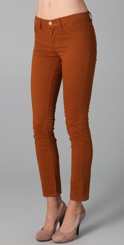 For Fall Paprika colored denim. Yup.