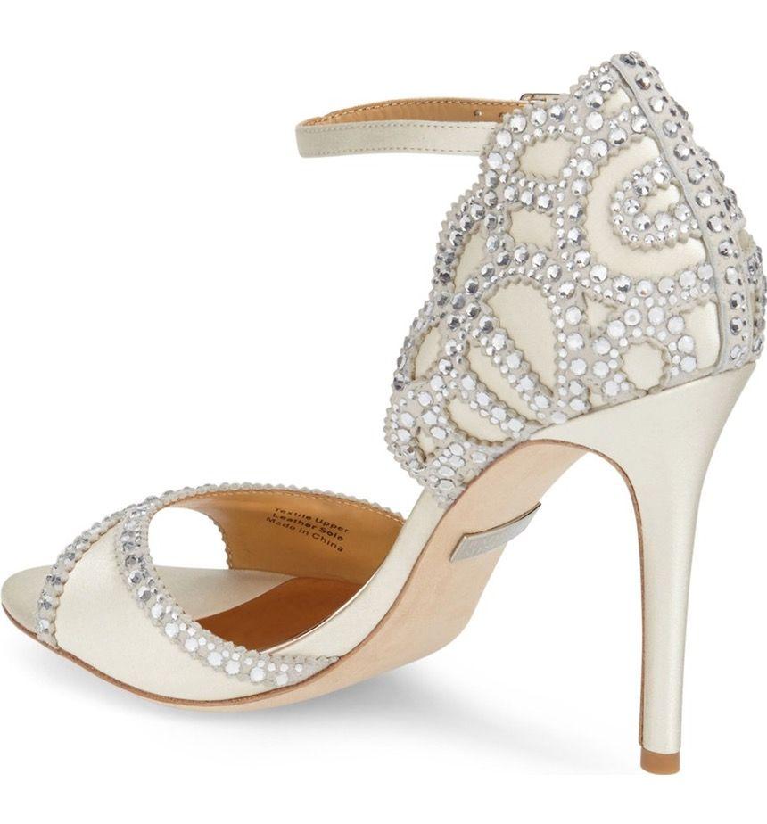 Bridal Shoes At Nordstrom: Badgley Mischka 'Roxy' Sandal (Women