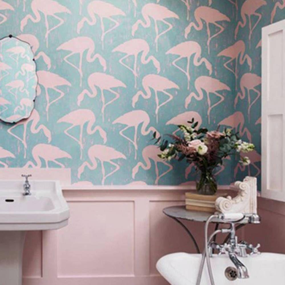 Papier Salle De Bain 40 idées déco pour la salle de bains | papiers peints