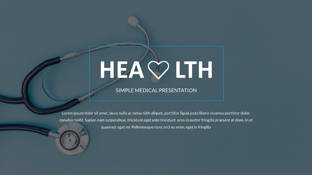 Background Introduction Powerpoint Medical Stethoscope In 2021 Background Powerpoint Medical Powerpoint Presentation Templates