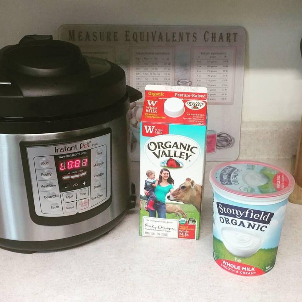 Making Yogurt In An Instant Pot Without A Yogurt Button Instant Pot Yogurt Instant Pot Yogurt Recipe Making Yogurt