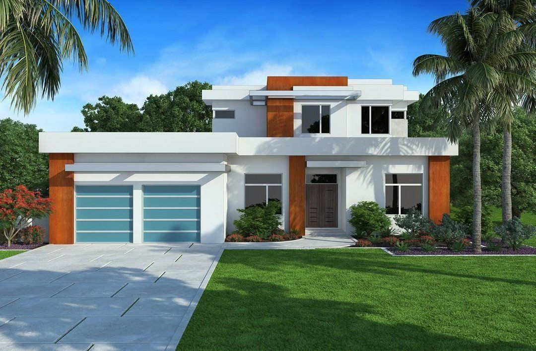 HPM Home Plans | Home Plan: 013-3633 | Modern contemporary ...