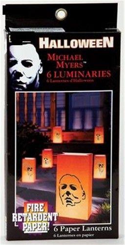 new halloween movie maniac michael myers luminaries set of 6 paper lanterns ebay