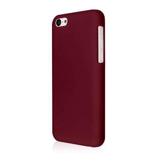 EMPIRE KLIX Slim-Fit Hard Case for Apple iPhone 5C - Soft ...