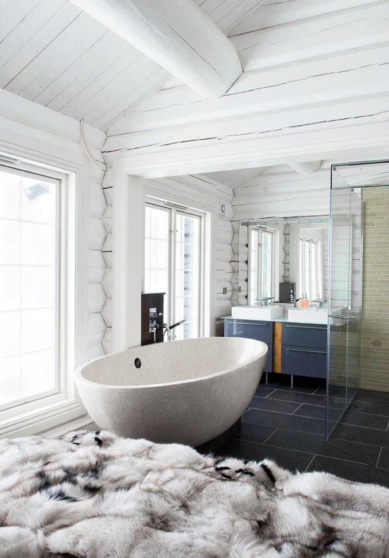 Random Inspiration 108   Contemporary bathroom designs, Fur throw ...