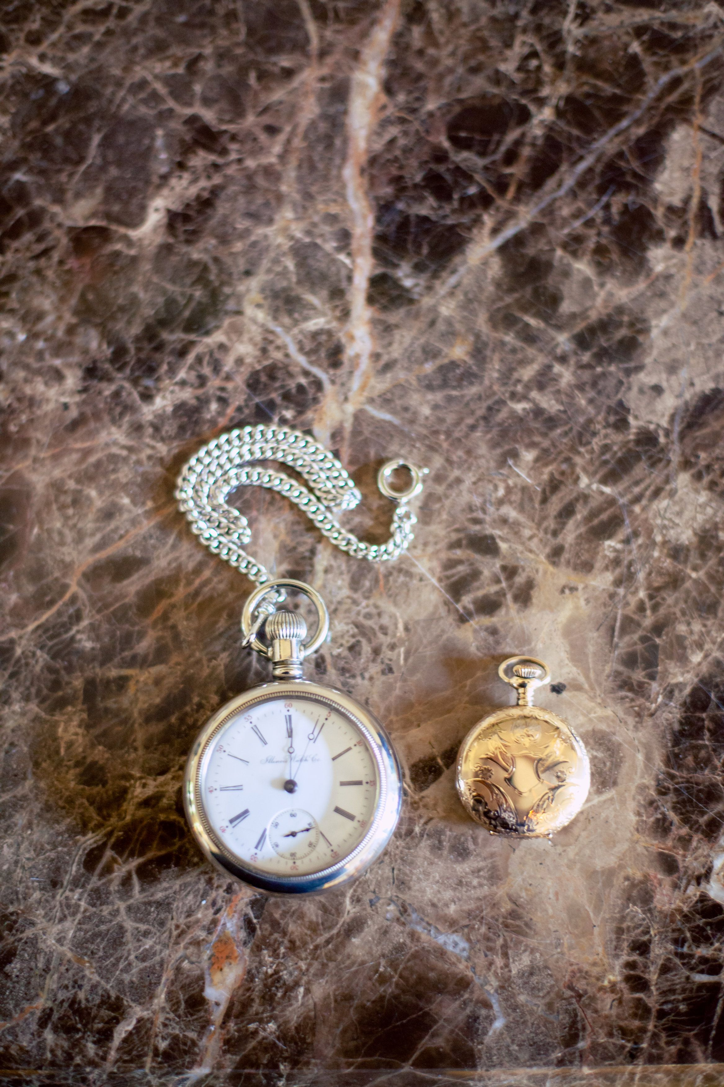 classic, elegant watch, time, keeping time, priceless, heirlooms, wedding accessories :: Caryn + Zach's Wedding at the Country Club of the South in Johns Creek, GA :: with Paige