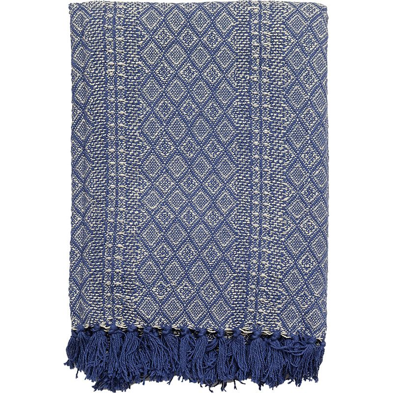 This cotton blanket will keep you warm on your journey!