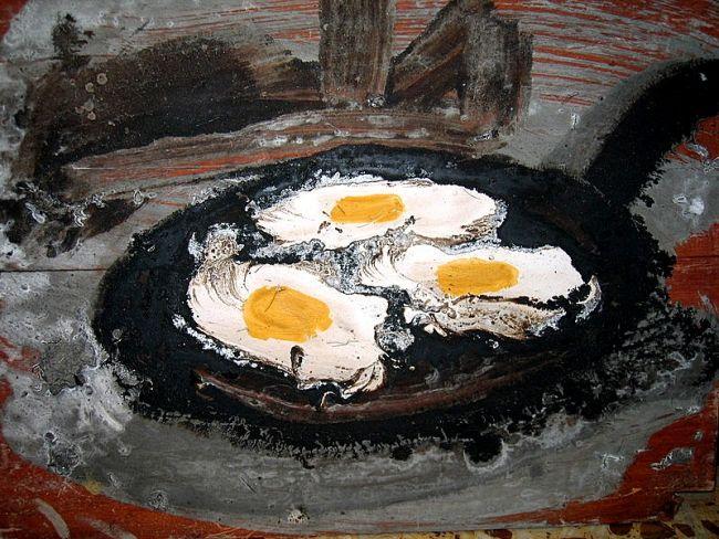 sarten con huevos - Gabriel Muguerza
