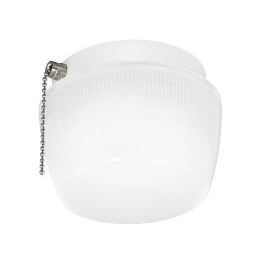 Good Earth Lighting G4018 Wh I Ecolight Mini Closet Light With Pullchain 5 Inch Closet Lighting Pull Chain Mini