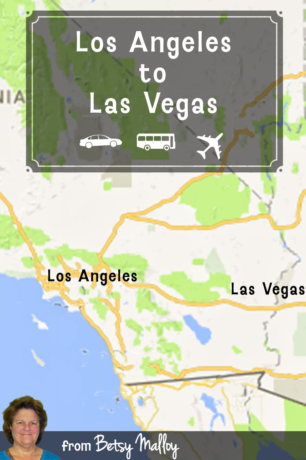 How To Get From Los Angeles To Las Vegas California Travel Road Trips Los Angeles Travel San Diego Travel