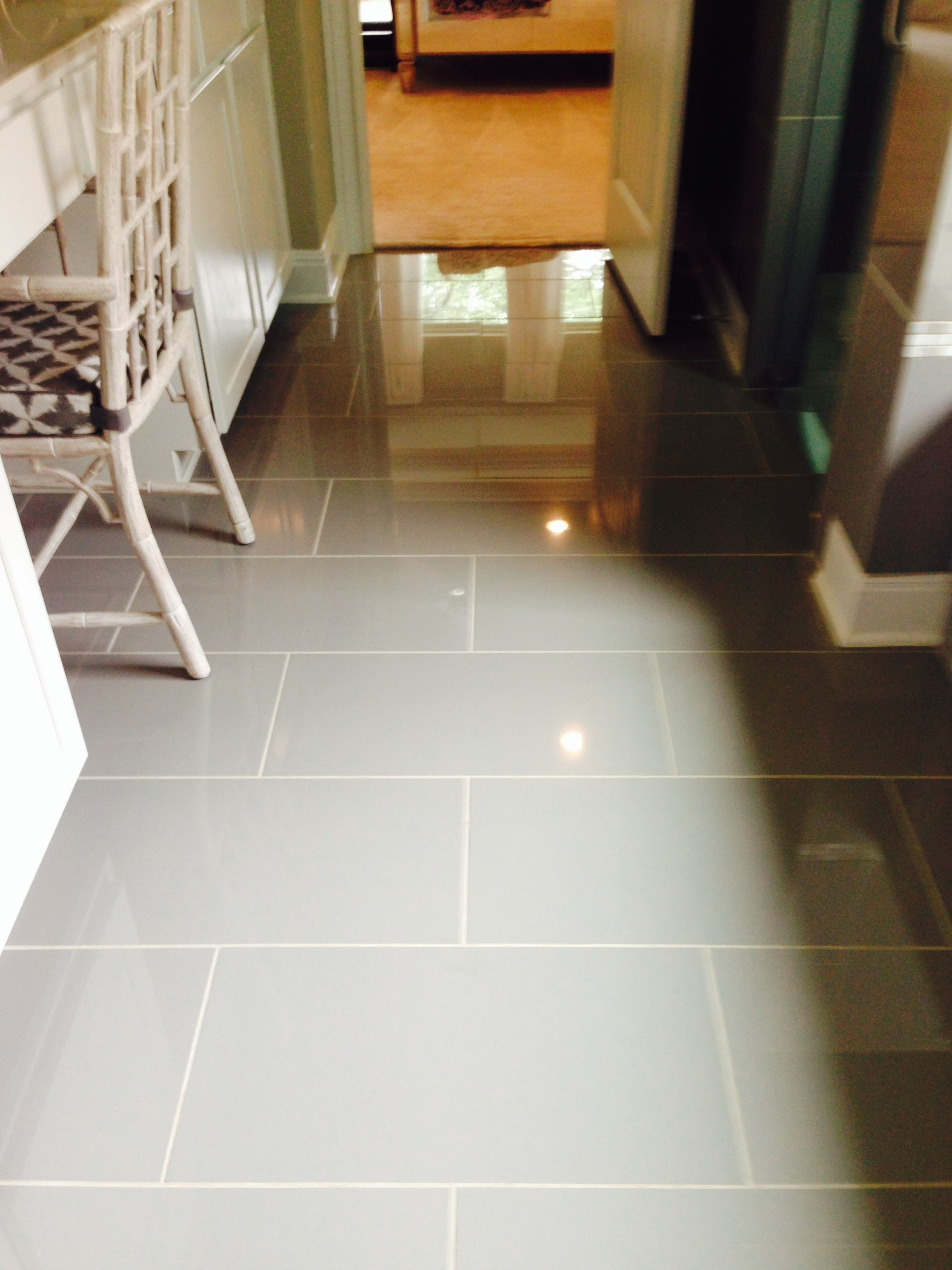 12x24 High Gloss Porcelain Tile