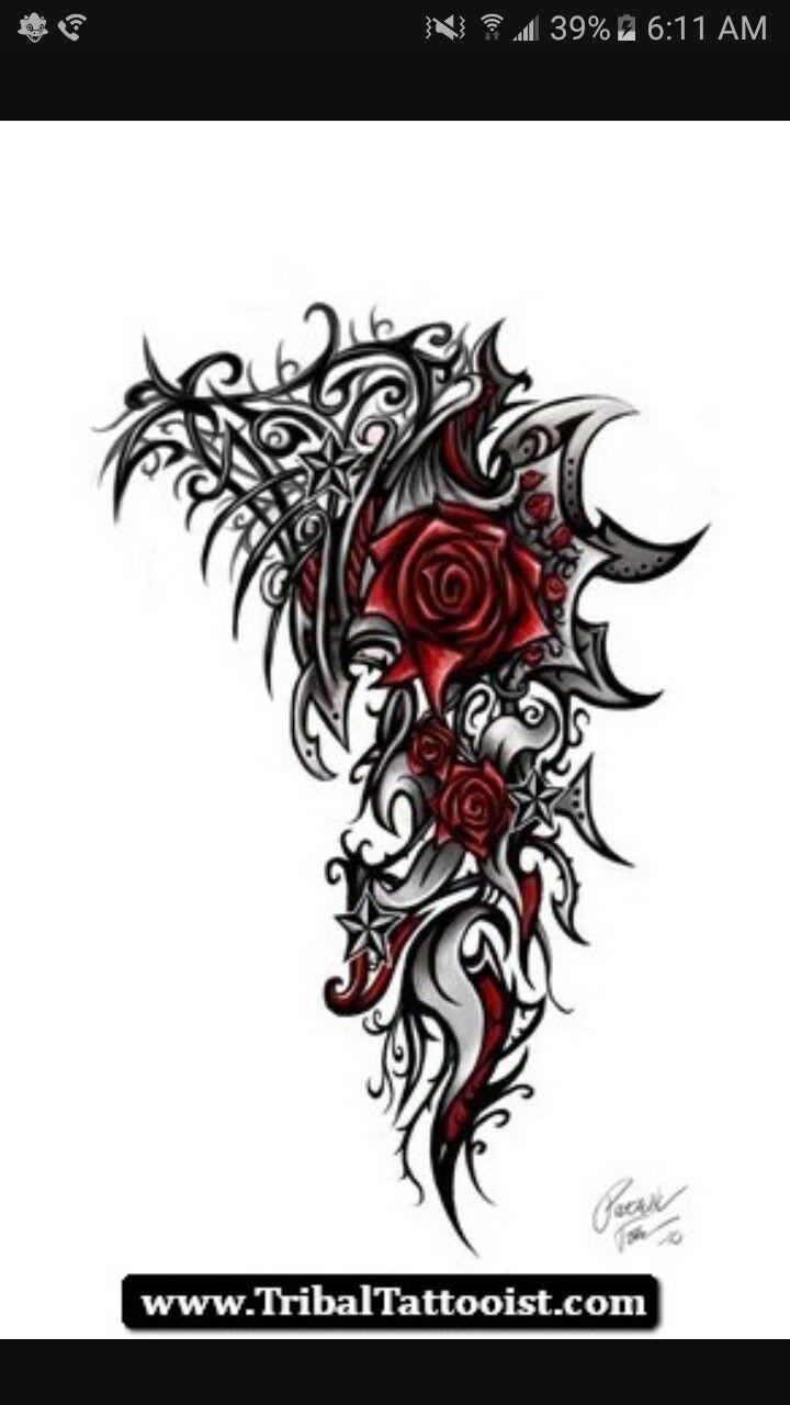 Pin by jasmine gomez on tats n earring pinterest tattoo tatting barbed wire roses flowers google search tattoo ideas tatting blossoms rose bloemen izmirmasajfo