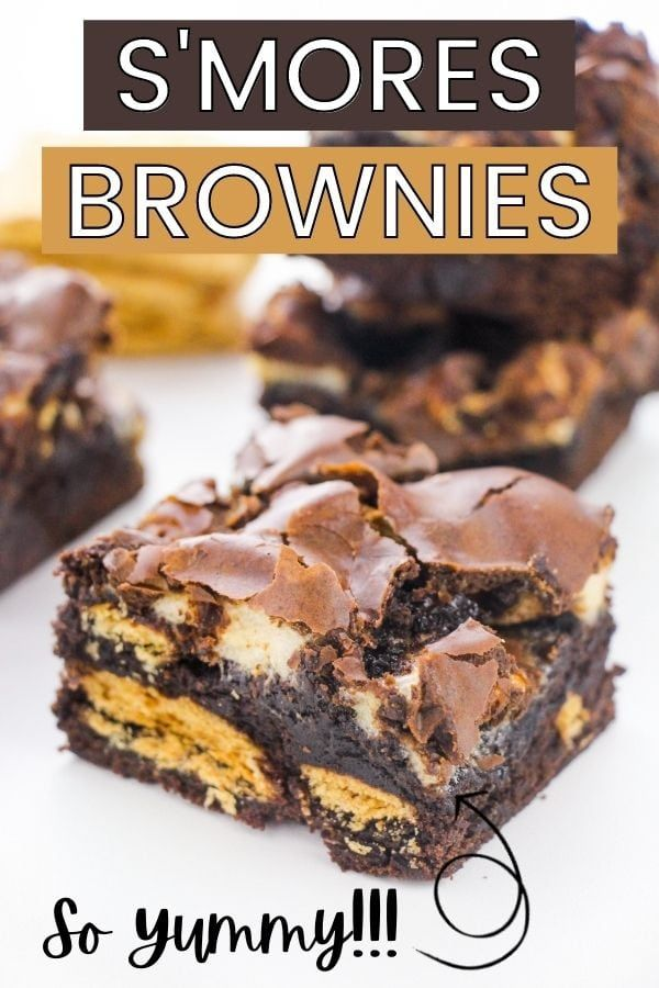 Heavenly S'mores Brownies Recipe Enjoy all the fla