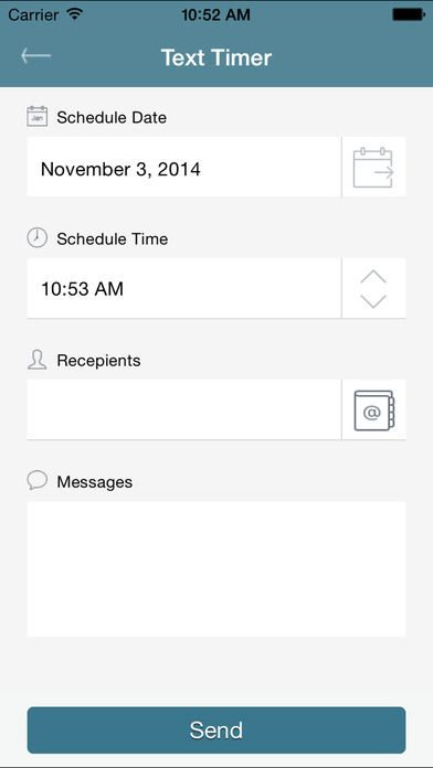 schedule message iPhone