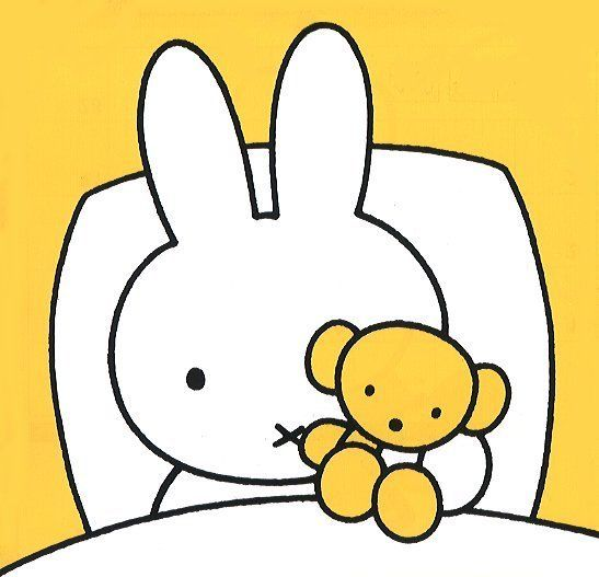 Miffy Sleep. | Miffy | Pinterest