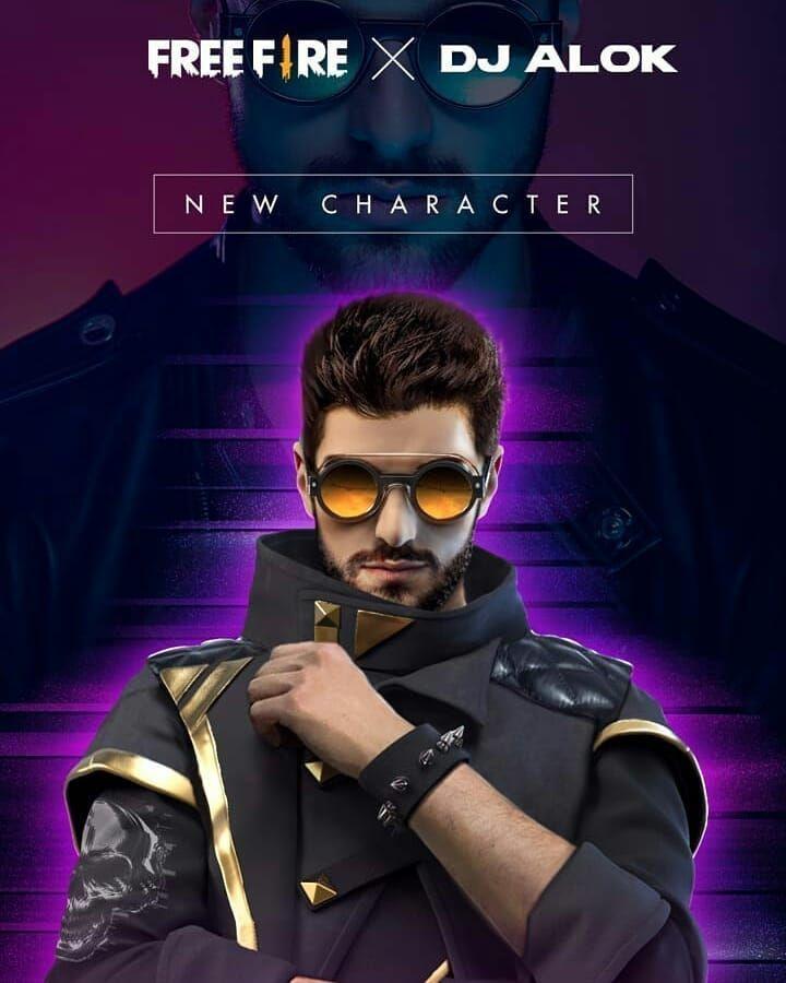 Dj Alok in 2020 Free avatars, Game download free, Phone