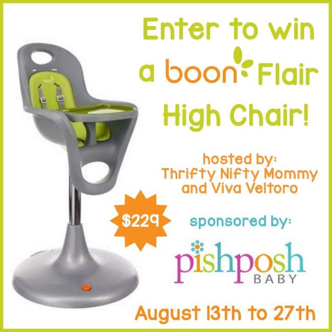 Boon Flair High Chair Giveaway We Love This Stylish And Easy To