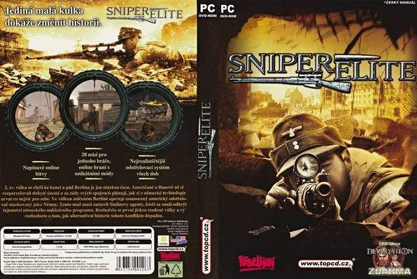 SNIPER ELITE V1 PC GAME FREE DOWNLOAD 1GB RIPPED Sniper