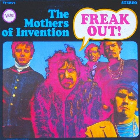 Frank Zappa And The Mothers Of Invention Freak Out Vinyl