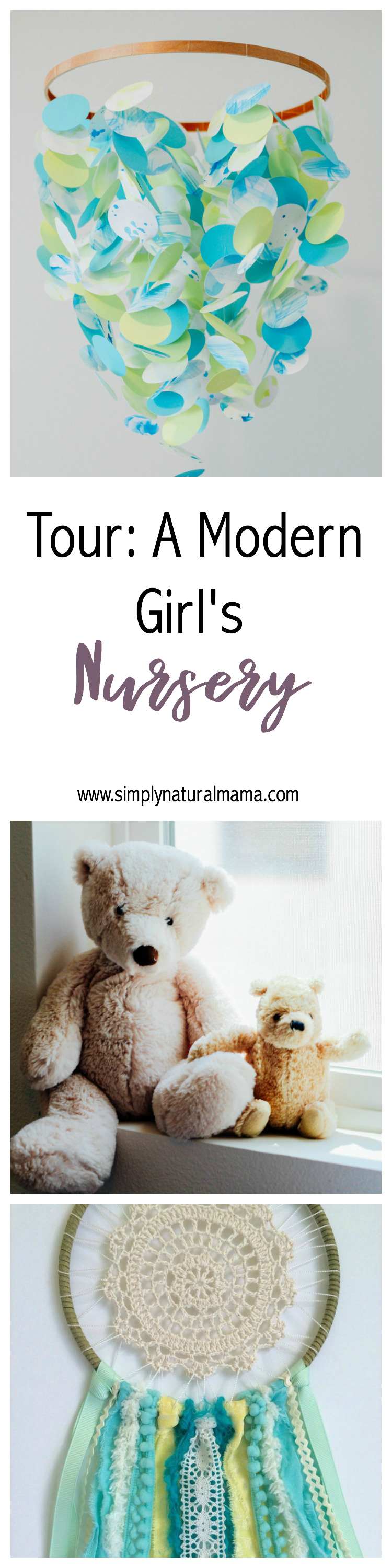 Aww! This is such a sweet and eclectic nursery. Must remember some of these items for my little one!