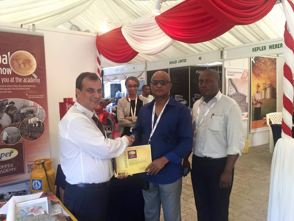 East Africa Fine Coffee Association 2016   #coffee #coffeeroaster #africa #tanzania   www.toper.com