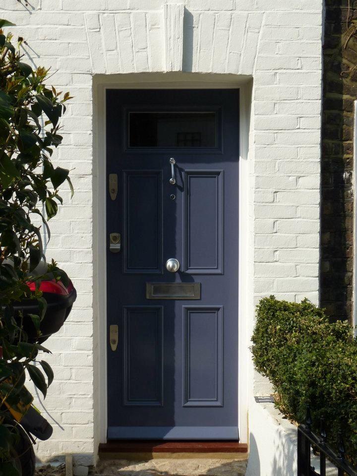 The London Door Company \'Grey Thunder\' paint colour - Satin ...