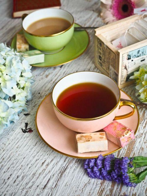 чай пью удачи с уроками